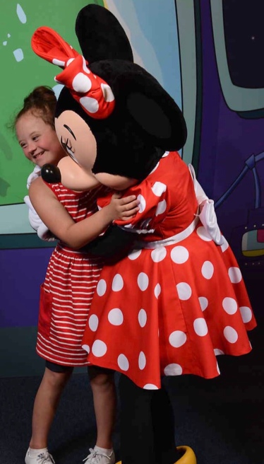 hope and minnie mouse